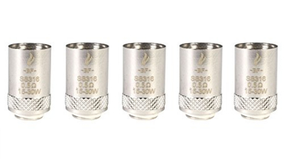 Riccardo BF SS316 Coils, Verdampferköpfe, 0.6 Ohm, 1er Pack (1 x 5 Stück).
