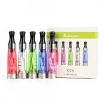 Salcar® 5x CE4 verdampfer für e-zigarette, 2,4±0,2 ohm / 1,6ml, passend für ego, ego-t, ego-c, ego-w – alle 510 gewinde akkus, 0,00mg nikotin, in verschiedener farben.