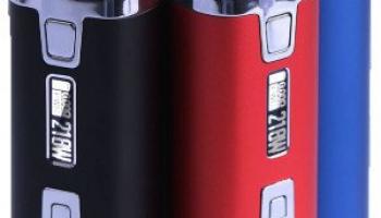 Sigelei WeHe 218 Box Mod 218W TC Akkuträger Farbe Rot.