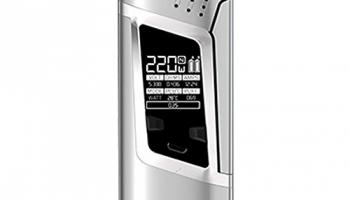 Smok Alien 220W TC Mod Farbe Silver.