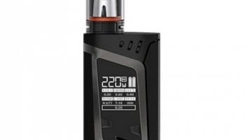 SMOK Alien Kit 220W TC TFV8 Baby Kit Farbe schwarz.