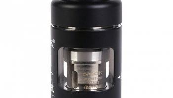 SMOK Helmet Mini Tank Clearomizer 2 ml, Durchmesser 22 mm, schwarz.