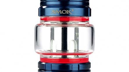 SMOK TFV16 Tank 9 ml, Durchmesser 27 mm, Riccardo DL Verdampfer für e-Zigarette, blau