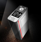 Smok XCube Ultra 220W TC Box Mod Akkuträger Farbe Silber