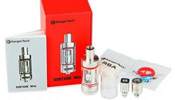 Subtank Mini SUB Ohm OCC 4,5ml Glastank Kanger Verdampfer KangerTech, e-Zigarette.