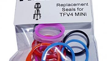TFV4 Mini von SMOK – Ersatz Bunte Seals (Mix-Pack 01).