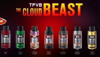 TFV8 – The Cloud Beast Farbe Blue.
