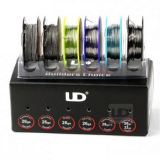 UD Wire Box Drähte für Selbstwickler Set (6 Spulen)