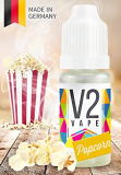 V2 Vape E-Liquid Popcorn – Luxury Liquid Made in DE 10ml 0mg