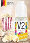 V2 Vape E-Liquid Popcorn – Luxury Liquid Made in DE 10ml 0mg