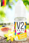 V2 Vape E-Liquid Vanille-Creme – Luxury Liquid Made in DE 10ml 0mg