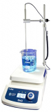 Witeg Magnetrührer MSH-500D-Set digital Vollkeramikplatte 500°C, mit Fühler und Halter, zum gleichzeitigen Mischen, Rühren und Erhitzen.