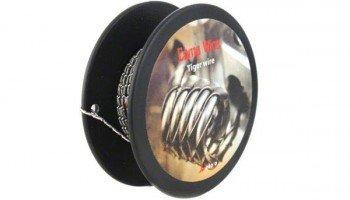 WoToFo Tiger Wire Kanthaldraht A1 Größe 0,4mm 26GA 3m